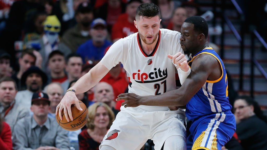 Jusuf Nurkic Wants Trail Blazers To Fix Trash Defense Become Like Bad Boys Probasketballtalk Nbc Sports Portland Trailblazers Trail Blazers Golden State Warriors Pictures