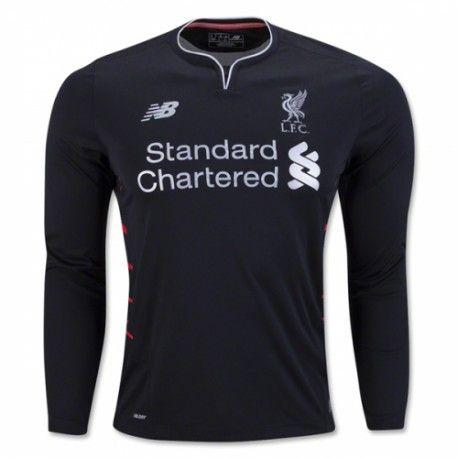 Liverpool Away Long Sleeve Shirt 2016 2017 - Discount Football Shirts,  Cheap Soccer Jerseys