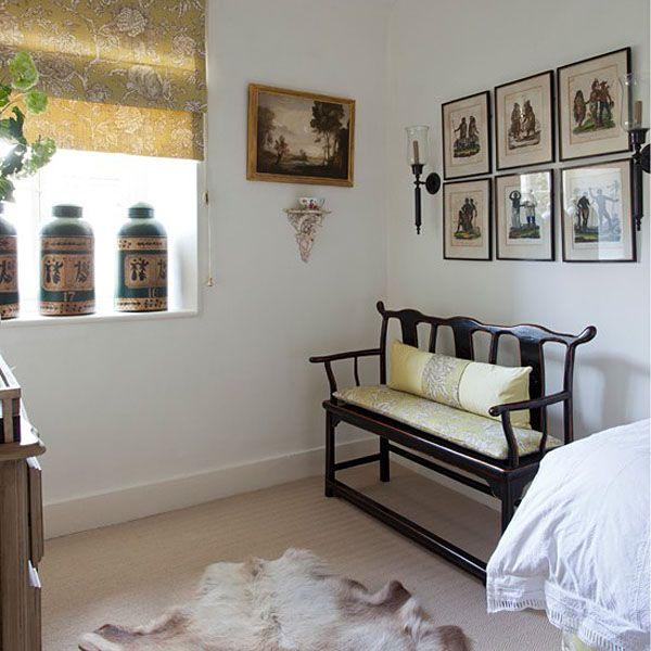 como decorar con muebles chinos banco chino negro | Ideas para el ...