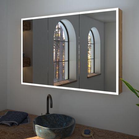 Spiegelschrank nach Maß mit LED Credo Spiegelschrank