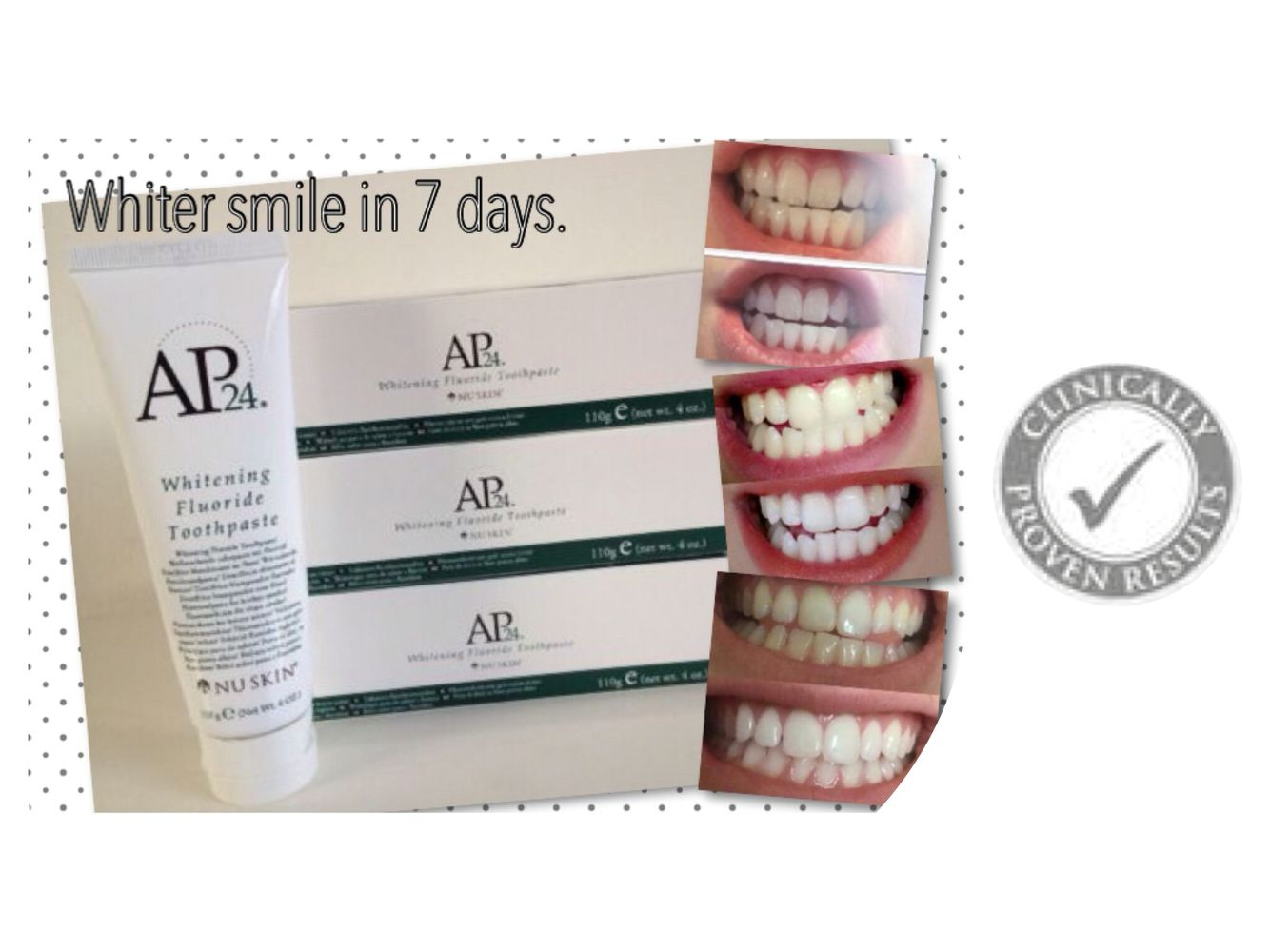 I never thought I'd be so excited about toothpaste but this truly is amazing. Check the link out below. That should give you something to smile about! https://www.facebook.com/groups/1173270062684511/
