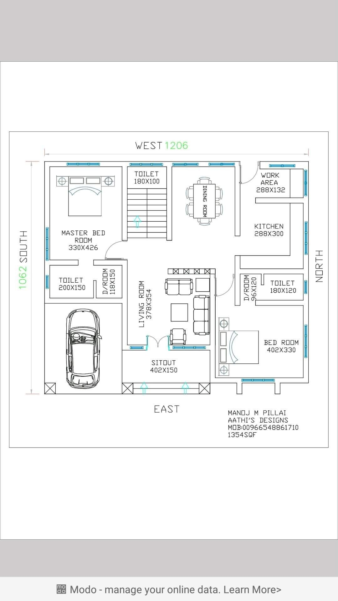 Pin By Indhu Satheesh On Our House Plans Simple House Plans Architectural House Plans