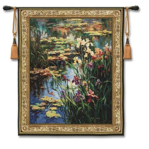 Large Tapestry Wall Hangings pure country weavers summer lily small woven wall tapestry