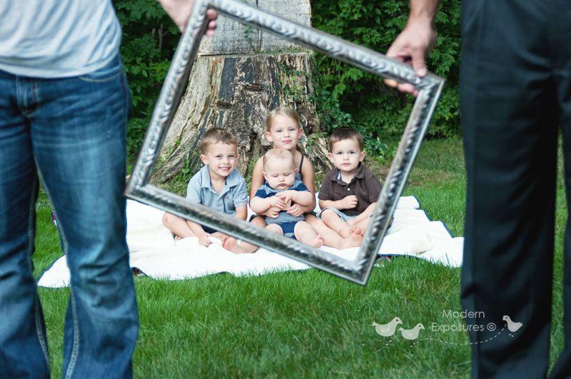 Fun photo frame picture