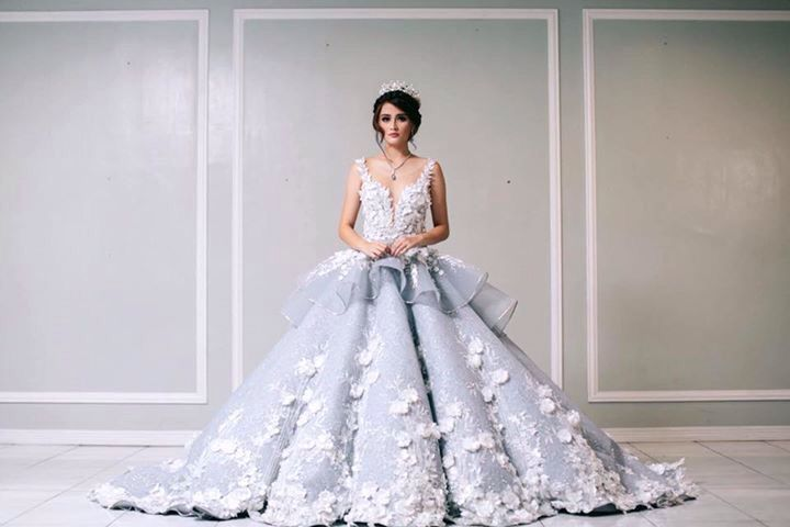 Debutant Gown by a Filipino designer Mak Tumang. | Ball dresses and ...