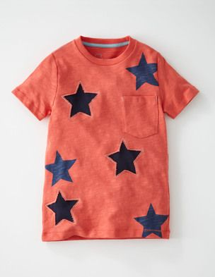I've spotted this @BodenClothing Reverse Appliqué T-shirt Sunset/Stars $28.00