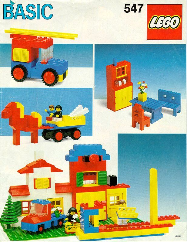 Old Lego Instructions Letsbuilditagain Legos Pinterest