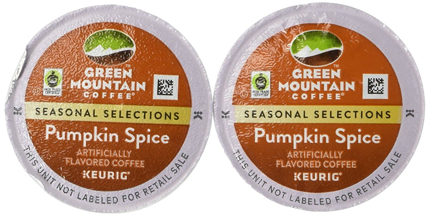 Green mountain pumpkin spice limited edition coffee for