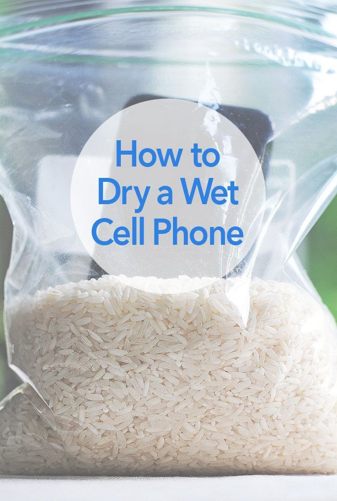 how to dry a wet cell phone best trick household tips ideas pinterest phone life. Black Bedroom Furniture Sets. Home Design Ideas