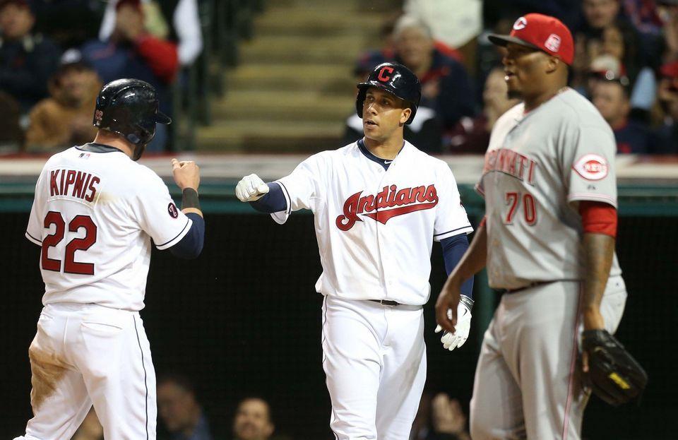 Cleveland Indians vs. Cincinnati Reds, May 22, 2015