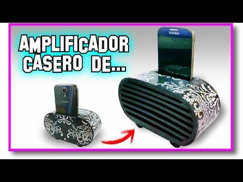 Cómo Hacer Un Amplificador Casero Para Celular Resultados Del Sorteo Pablo Inventos Youtube Phone Speaker Diy Diy Speakers Cell Phone Speakers