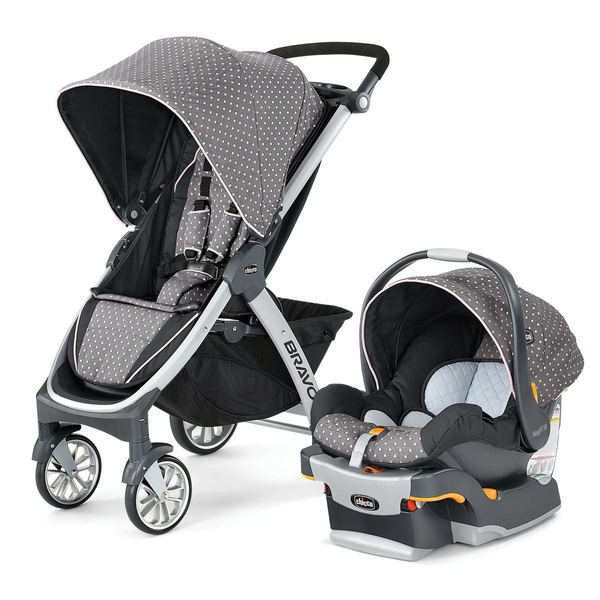 Car Seat Stroller Combo That Grows With Baby Chicco Bravo Trio Travel System With Keyfit 30 Infant Car