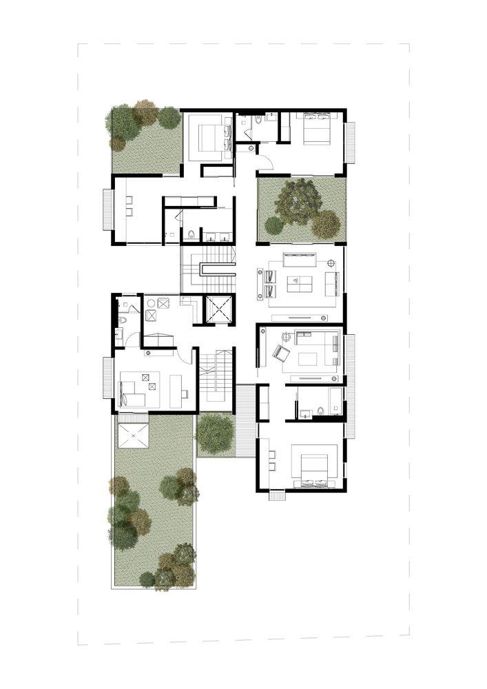 Box House Ming Architects Box Houses Craftsman Floor Plans Minimal House Design