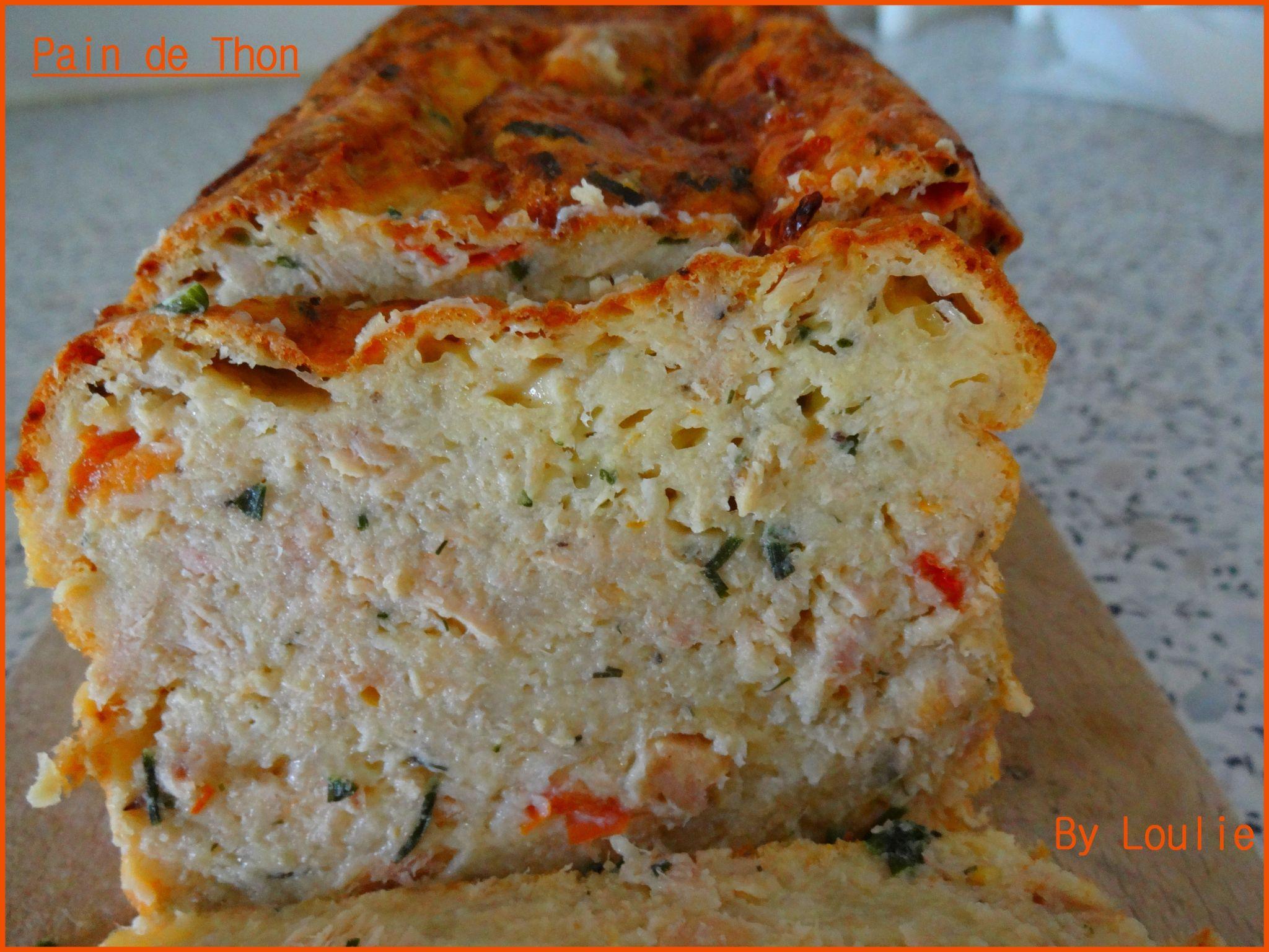Pain De Thon Au Bonheur Des Gourmands Entree Flan Cake Et