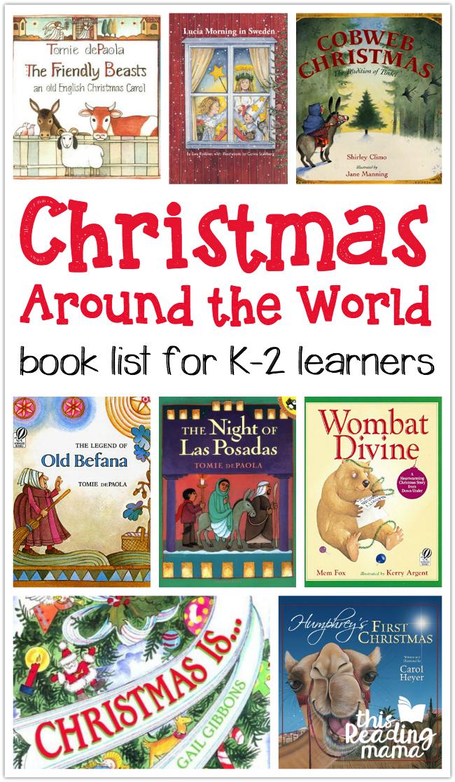 Christmas Around The World Activity Page Book Lists Language - World first language list