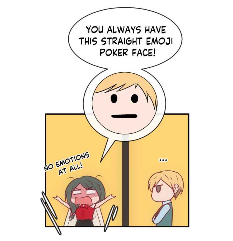 You Always Have This Straight Emoji Poker Face In 2020 Poker Face Webtoon Emoji