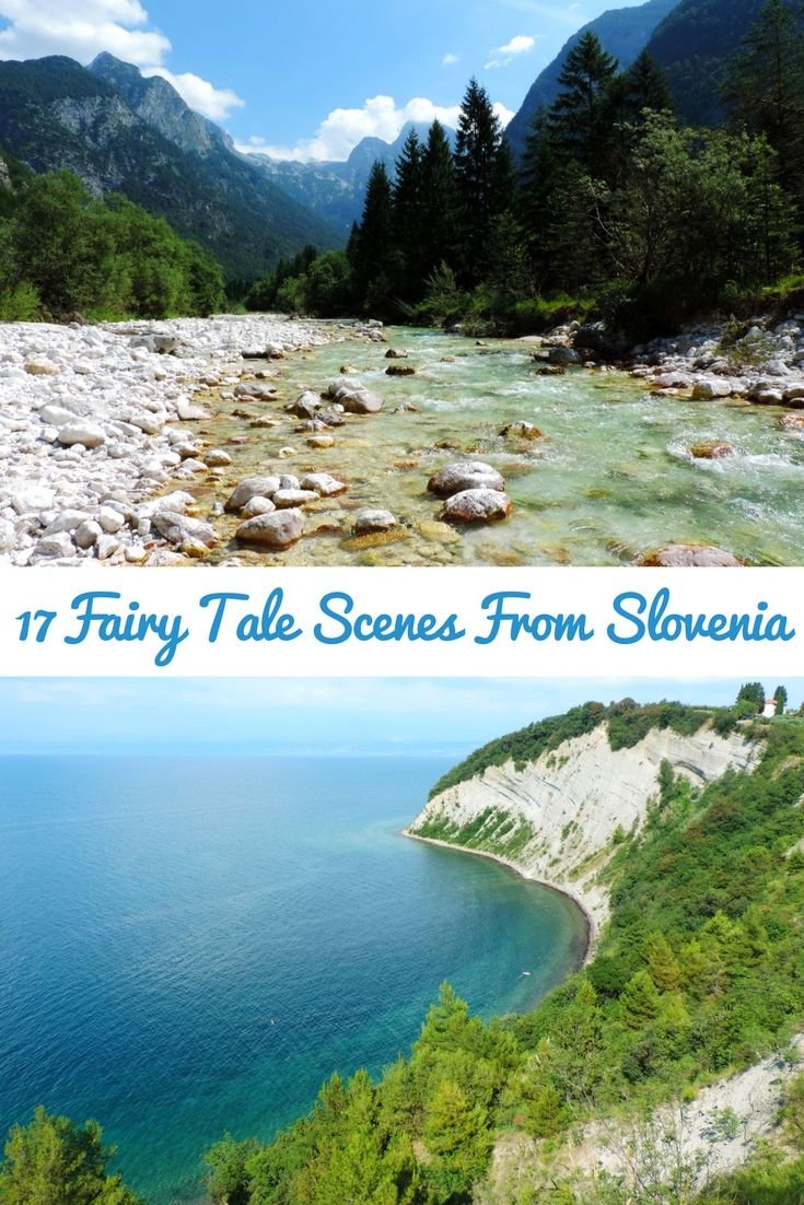 Let us guide you through the most magical places in Slovenia, this small country of incredible beauties!