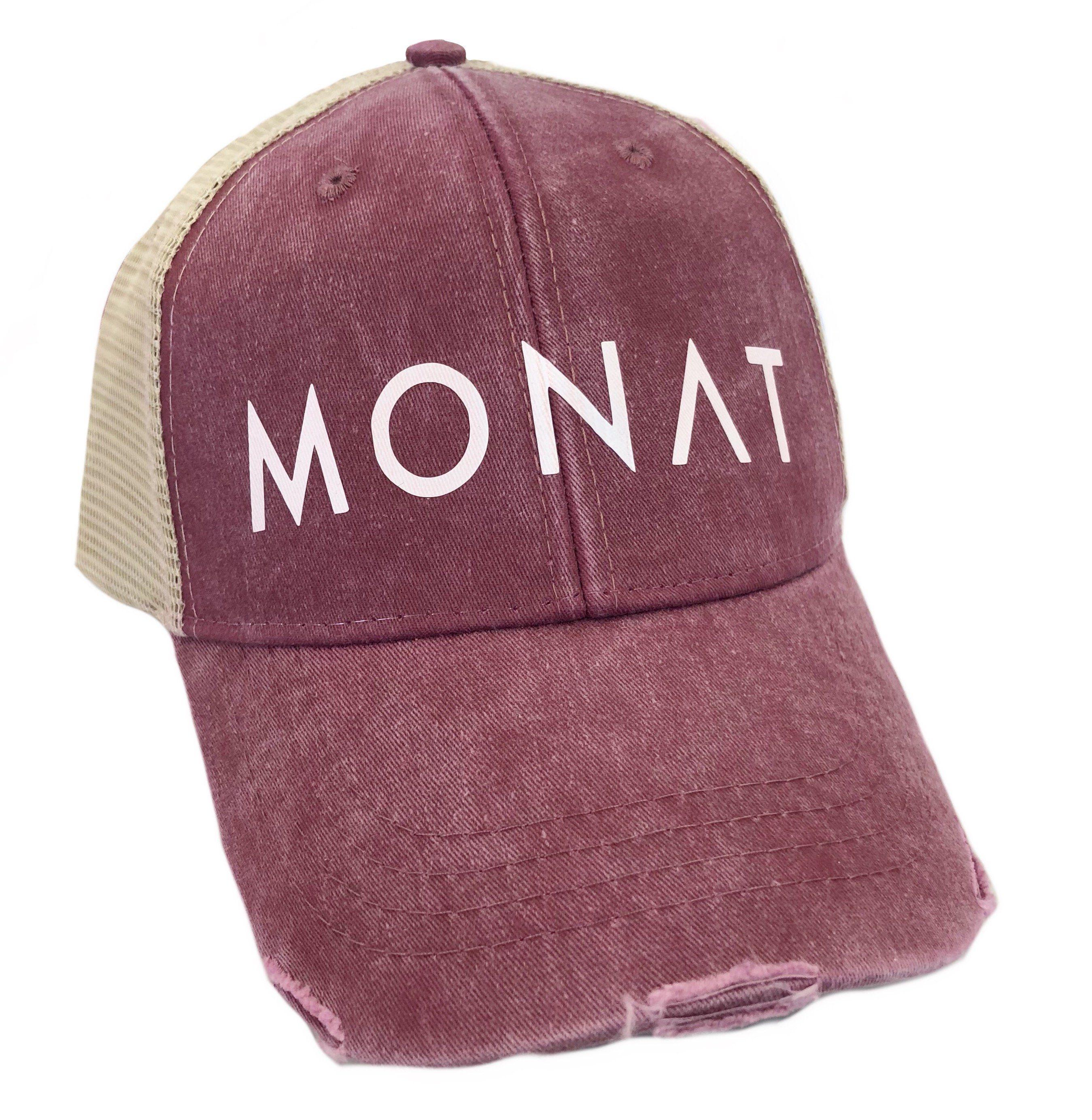 Monat Burgundy Hat