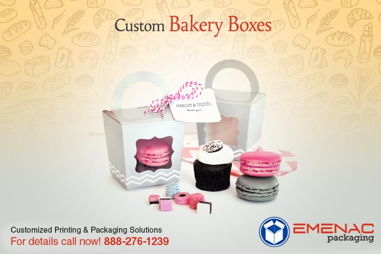 Custom Bakery Boxes give bakery items fresher look