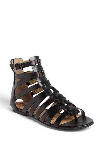 Sam Edelman 'Beck' Sandal. Black leather OR saddle leather is my dilemma with these but I love a cute gladiator!
