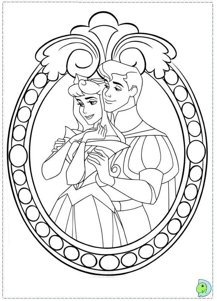 coloriage la belle au bois dormant (With images) | Disney ...