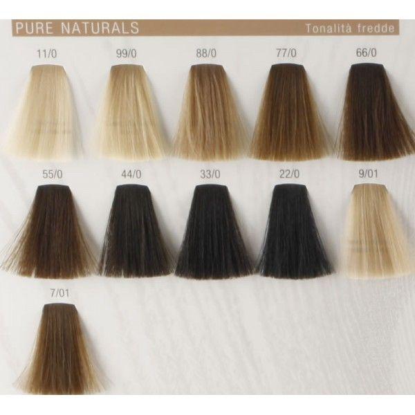 Koleston perfect pure naturals cold colours hair color chartswella also best colour images on pinterest ideas rh