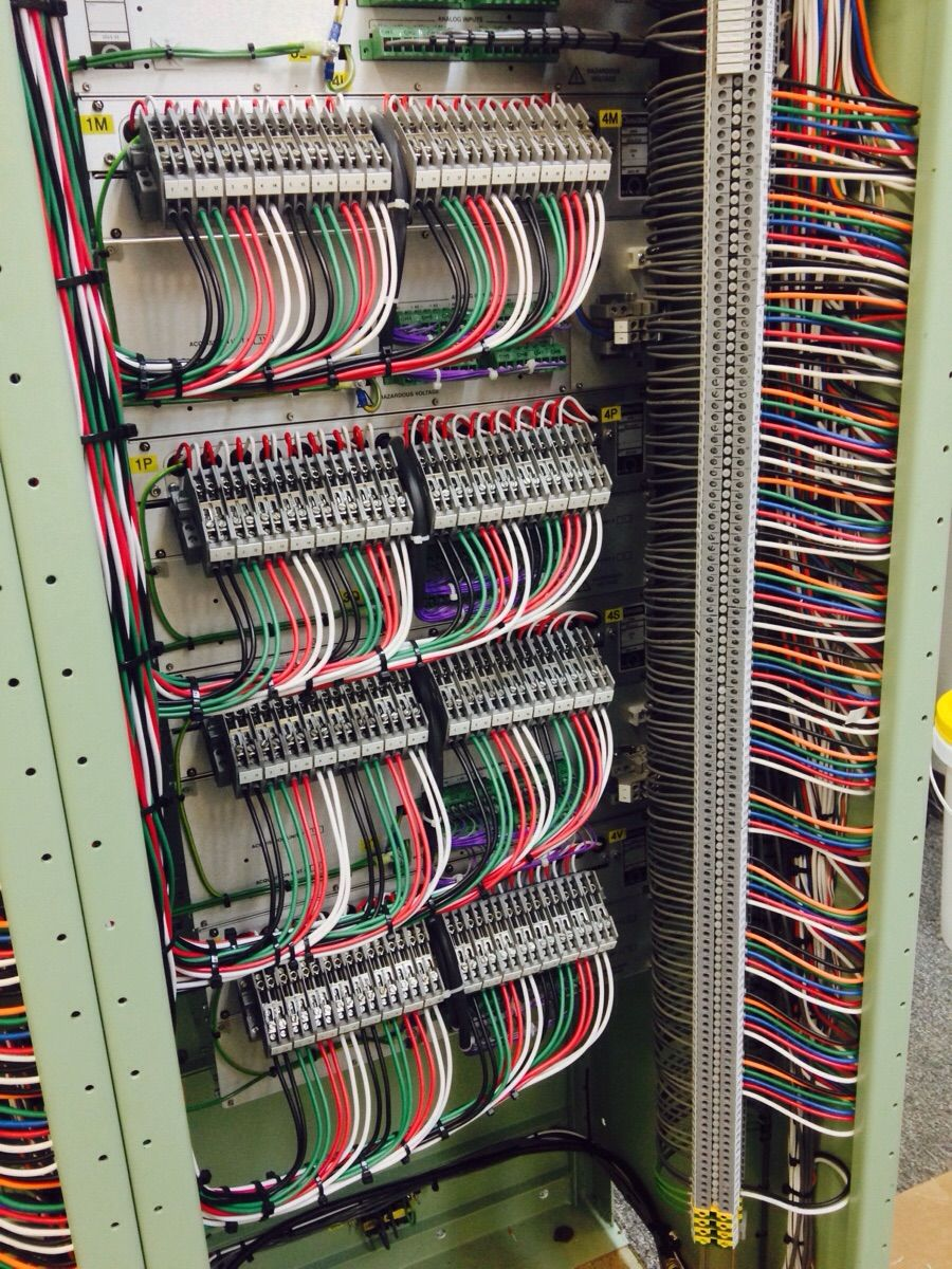 [QMVU_8575]  Imgur | Structured cabling, Cable management, Control panels | Relay Rack Wiring |  | Pinterest