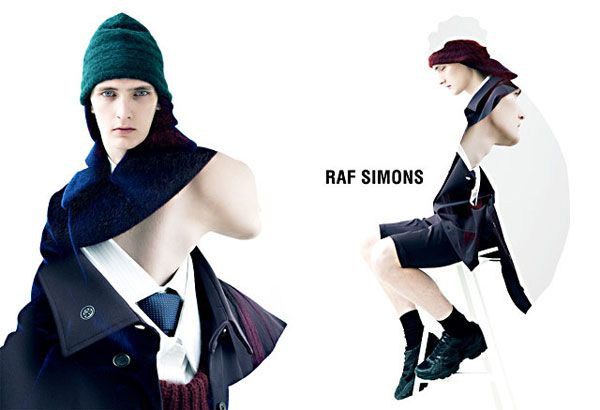 Raf Simons website- Diary