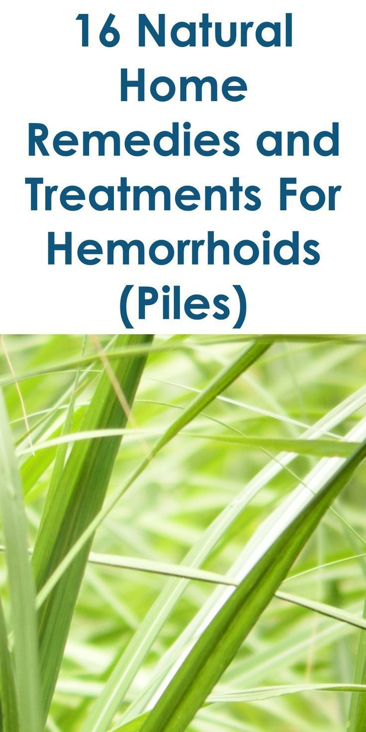 Treatment of hemorrhoids with folk remedies: the most popular methods of therapy at home 49