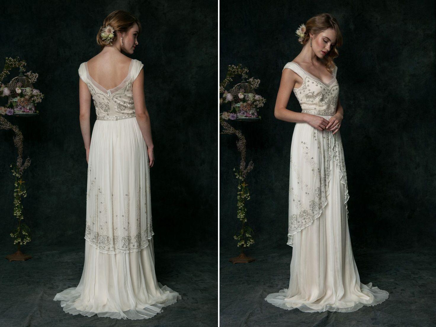 The Romantic 2016 Bridal Collection From Saja Wedding Elegant Bridal Gown Bridal Style Art Nouveau Wedding Dress