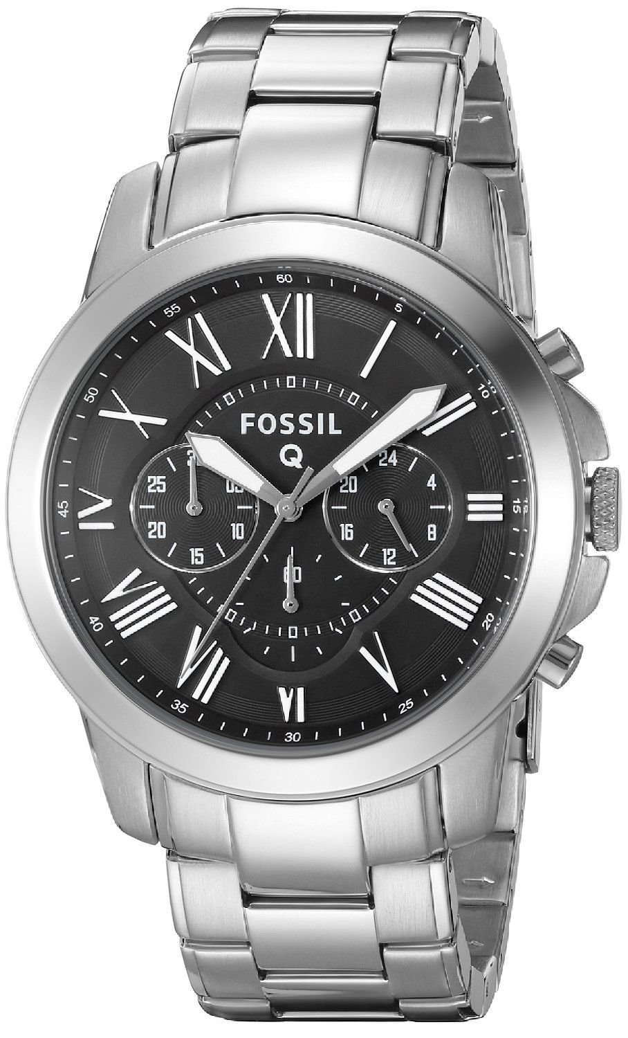 Fossil Q Grant Stainless Steel Hybrid Smartwatch Review