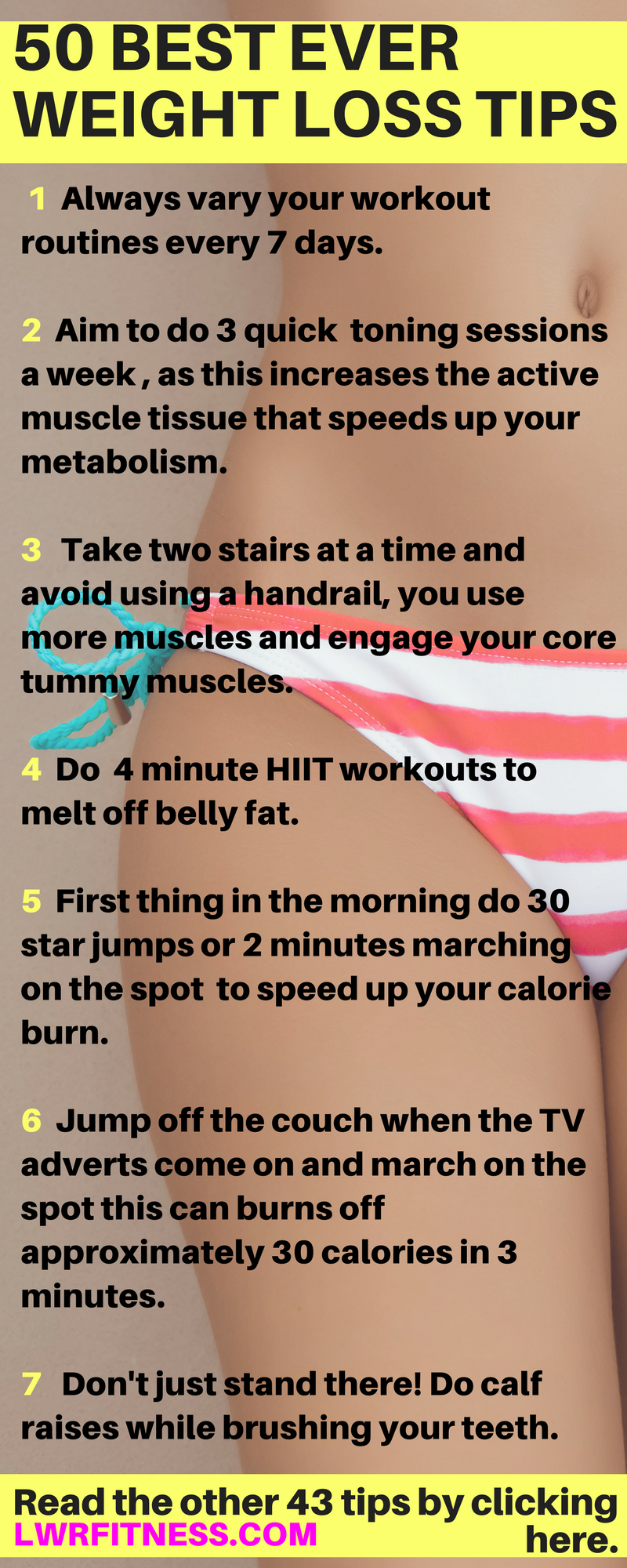 50 Healthy Ways to Lose Weight advise