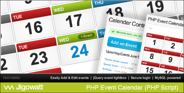 Php Event Calendar  Php Event Calendar Is A Mysql Database Driven