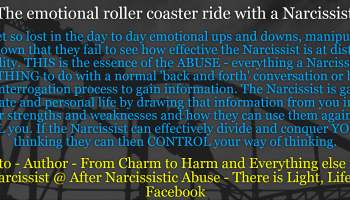 how narcissists control you