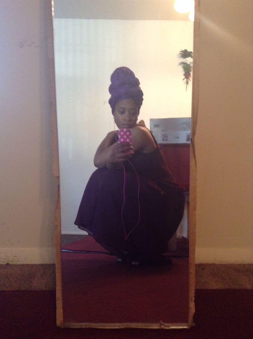 Plum summer dress