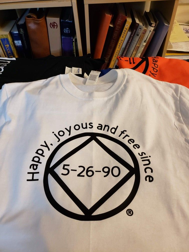 Custom clean date shirts and tanks, customized with your