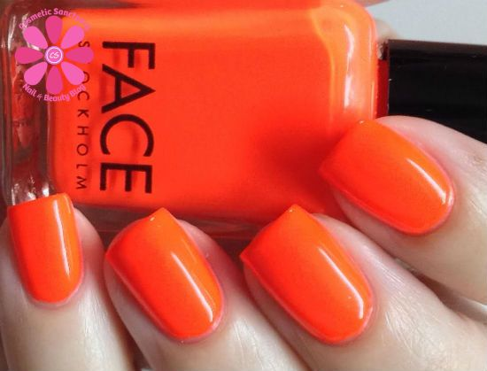 Face Stockholm 73 And 58 Nail Polish Swatches Review Cosmetic Sanctuary
