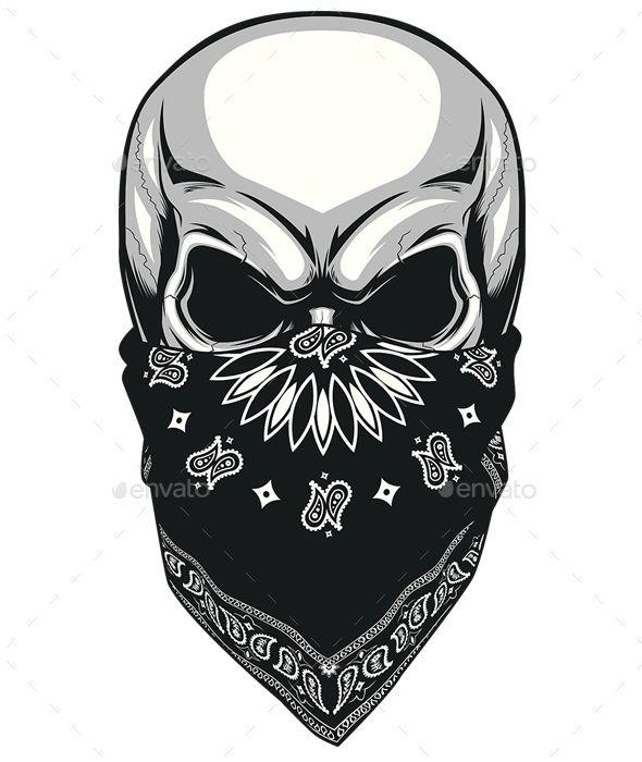 skull bandana photoshop psd evil ghost available here. Black Bedroom Furniture Sets. Home Design Ideas