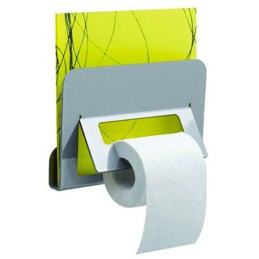 Un Derouleur Papier Toilette Original Ca Fini La Deco Les Wc