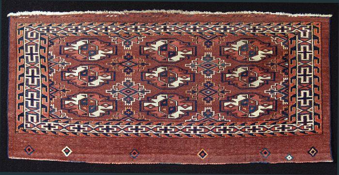 M. Tehrani Yomut / Karadashli Torba 50 x 107 cm 19th Century
