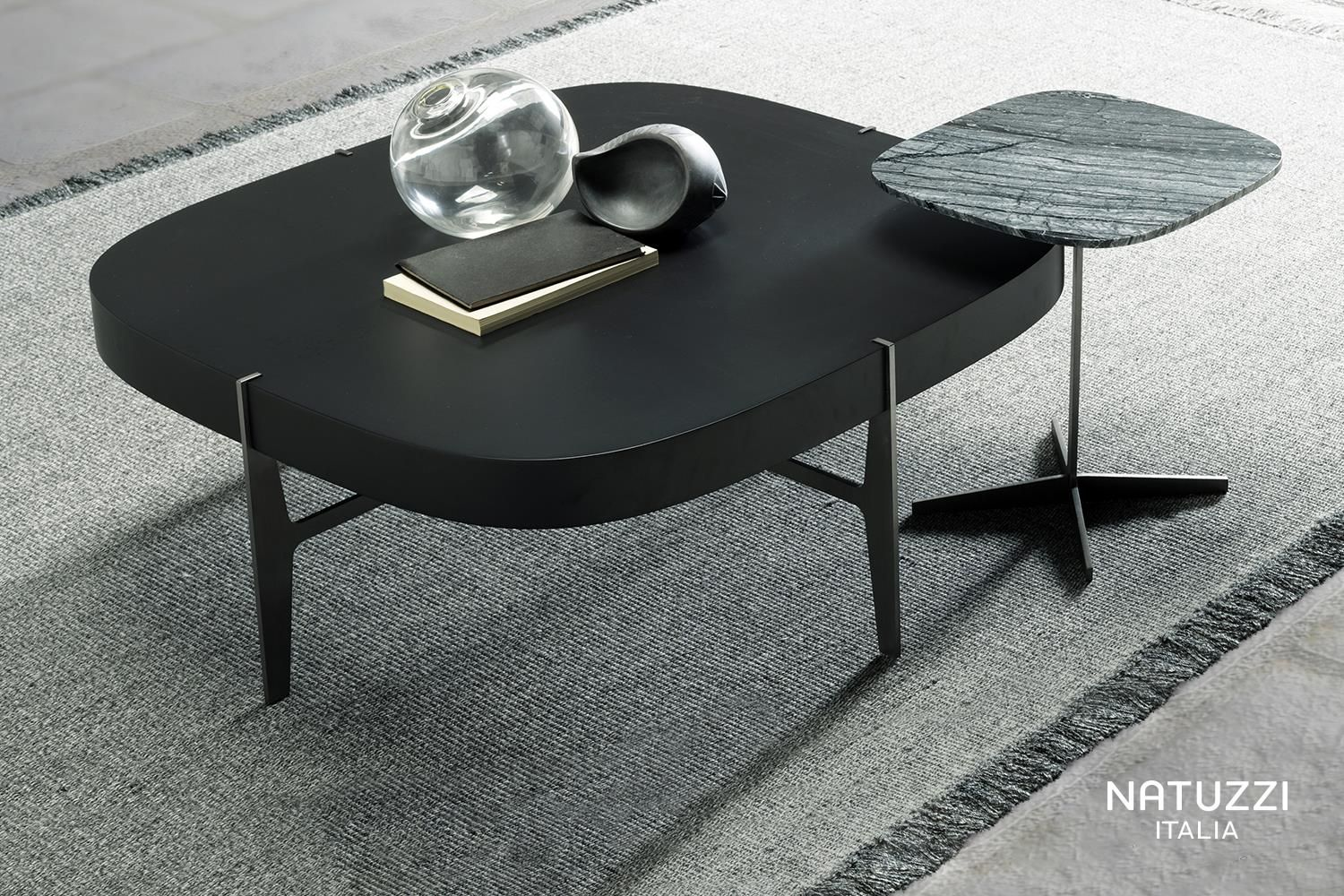 Couchtisch Natuzzi Thanks To Its System Of Cubic Elements Ido Coffee Table