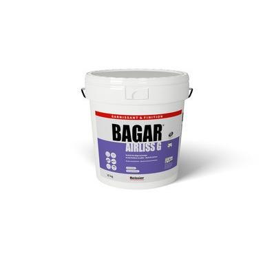 Enduit De Degrossissage Et De Finition En Pate Special Airless Bagar Airliss G 25kg Bricoman Liberon Enduit Entrepreneur