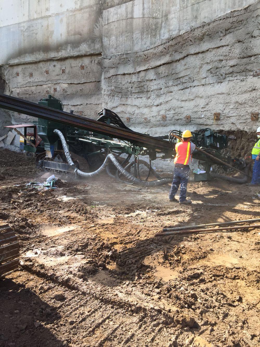 Soil Nail Retaining Wall System Villalba Pr Wall Systems Retaining Wall Villalba