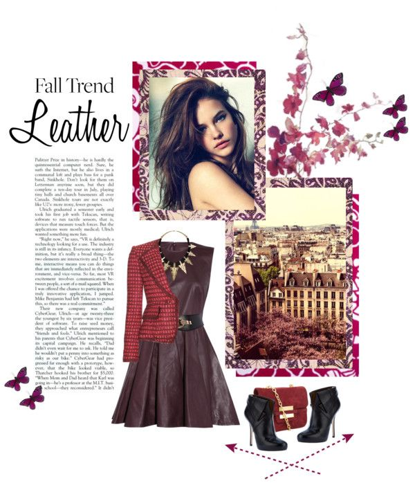 """Leather - 20.09."" by tojaula ❤ liked on Polyvore"