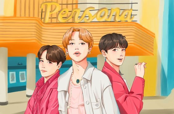 Photo of bts fanart boy with luv | Tumblr