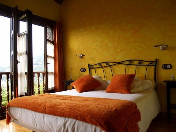 Hotel rural L´Albancia (Asturias) Habitaci�n Amarilla