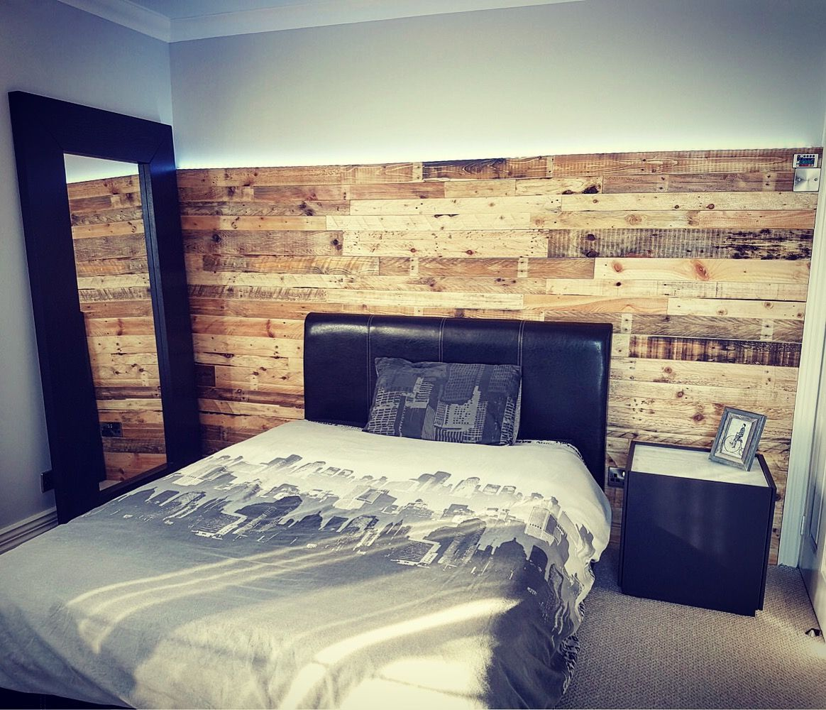 Wood pallet wall by Naturewall on pallet wood wall cladding