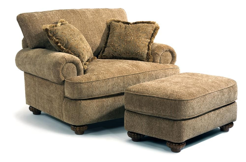 Patterson Traditional Chair Ottoman By Flexsteel At Steger S Furniture Flexsteel Furniture Living Room Chairs Furniture