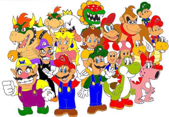 Mario Kart Characters Mario Kart Double Dash Characters