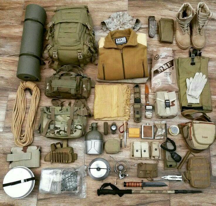 этого вам снаряжение для выживания в лесу фото виде